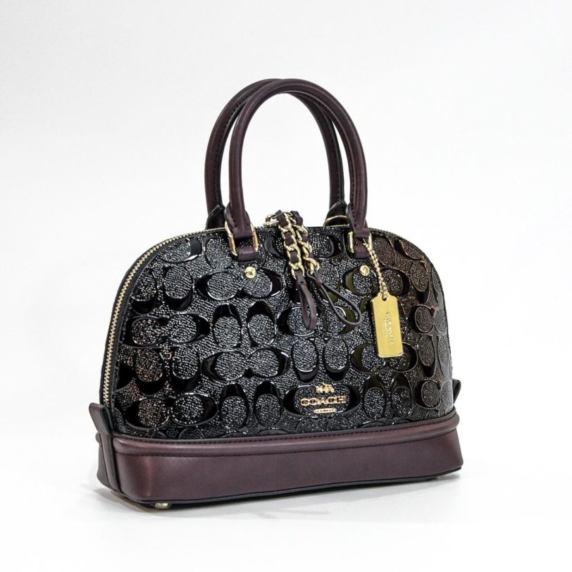 tas satchel coach mini sierra