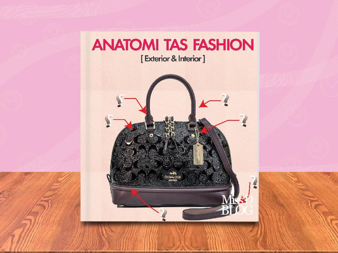Mengenal Anatomi Tas Fashion