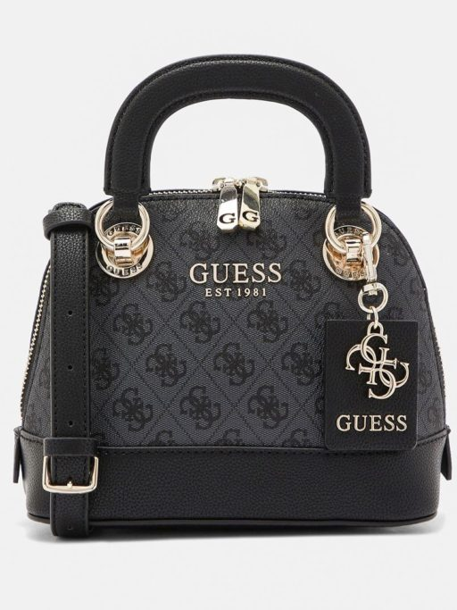tas guess Cathleen satchel dome black