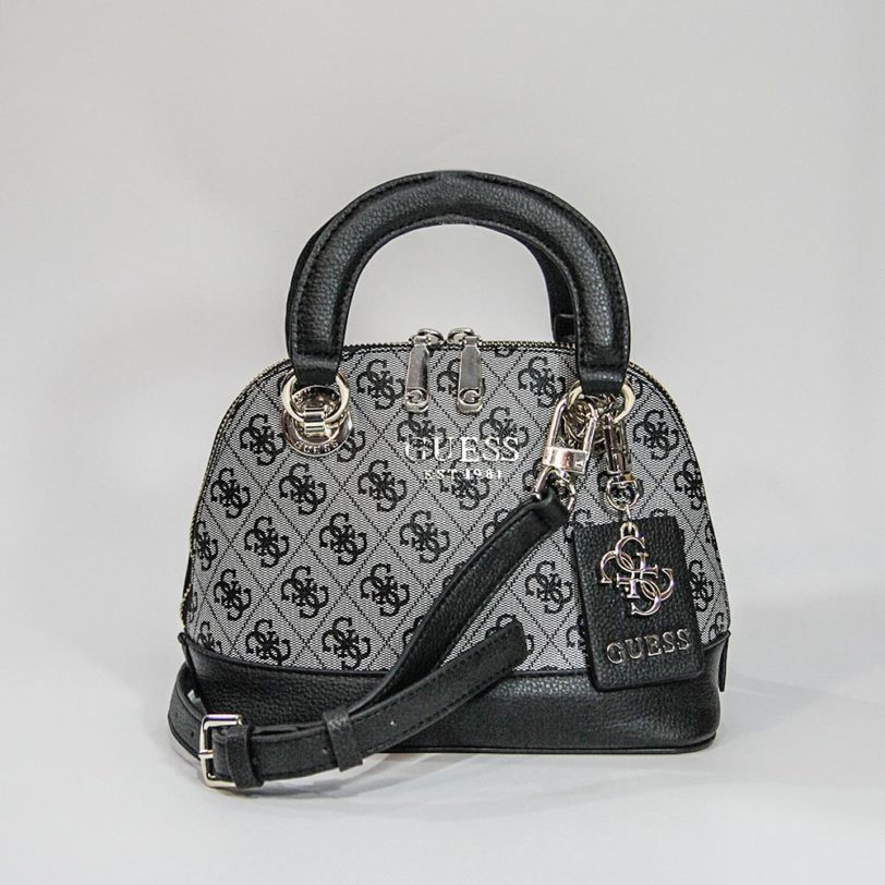 tas guess Cathleen satchel dome gray