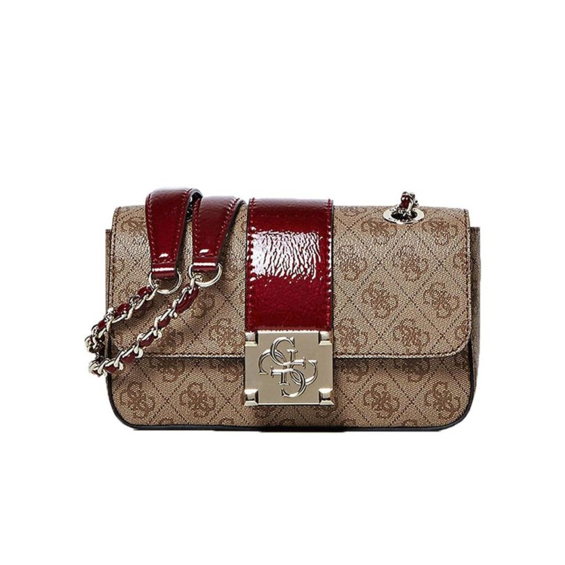 tas guess logo city Convertible red front