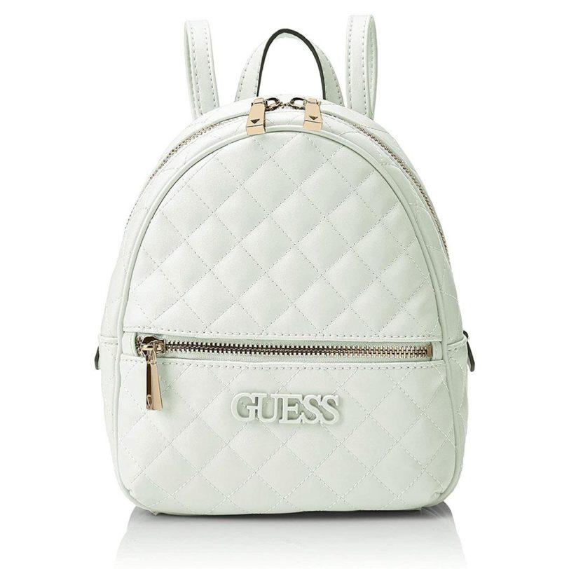 tas guess elliana backpack pink interior back