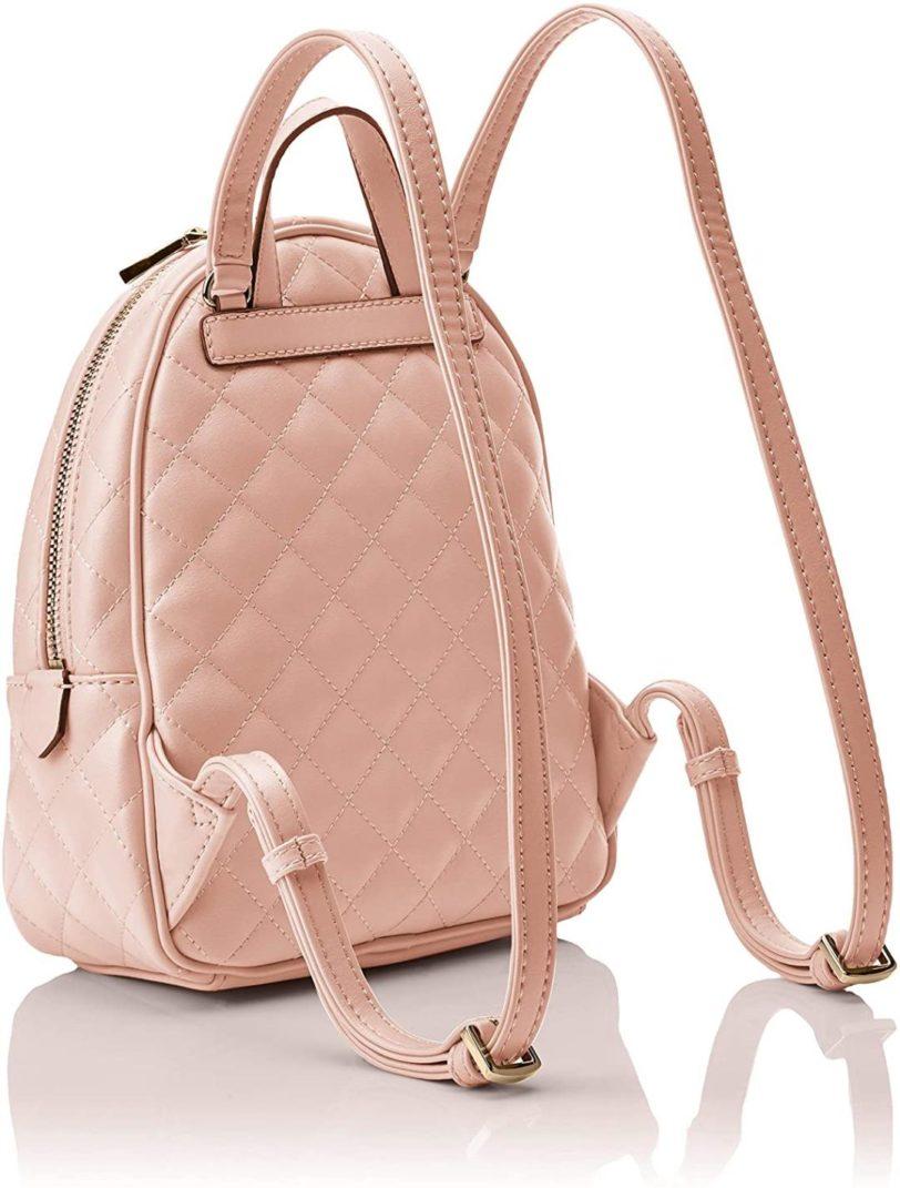 tas guess elliana backpack pink back