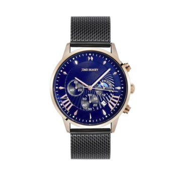 JH Mens Sporty Rose Gold