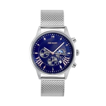 JH Mens Sporty Silver