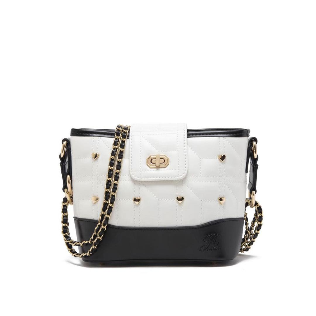 jh amour sling white