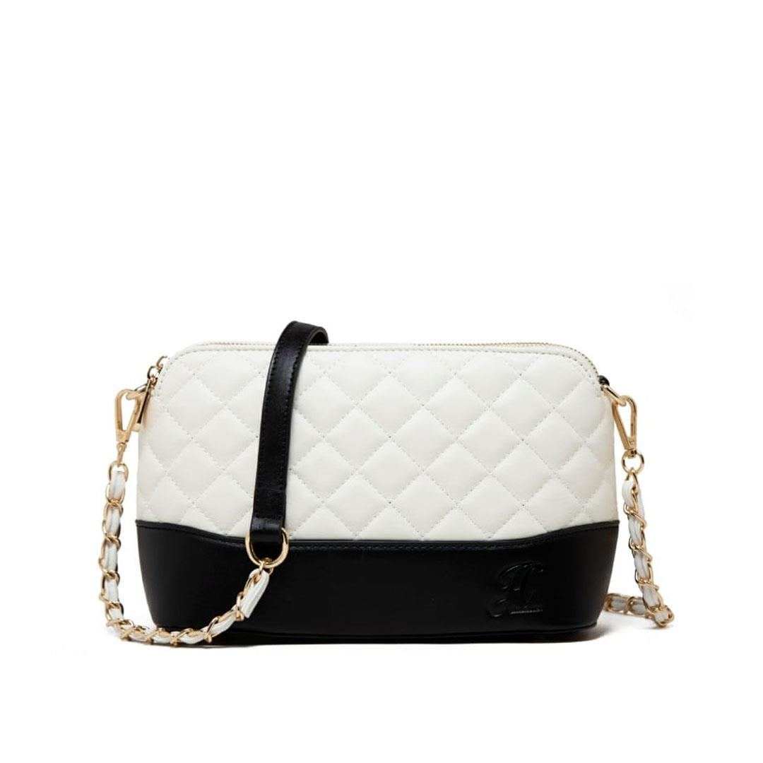 jh kylie sling bag white