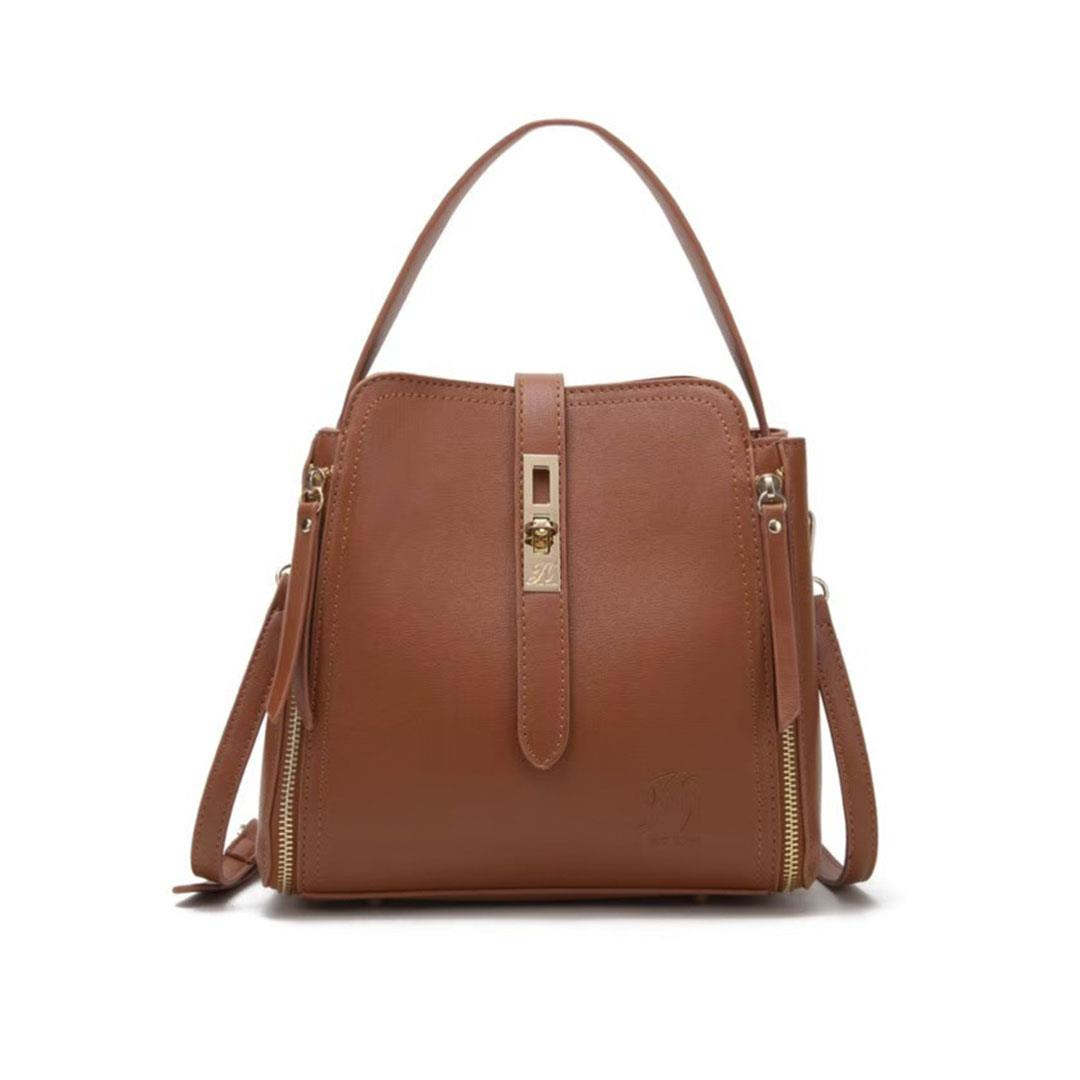 jh laura bucket bag brown