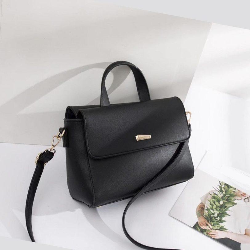 tas jh mona satchel black