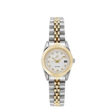 JH Ladies Classic Lux White Gold (8045)