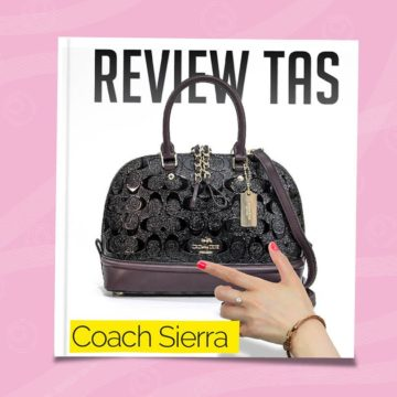review tas coach sierra mini satchel