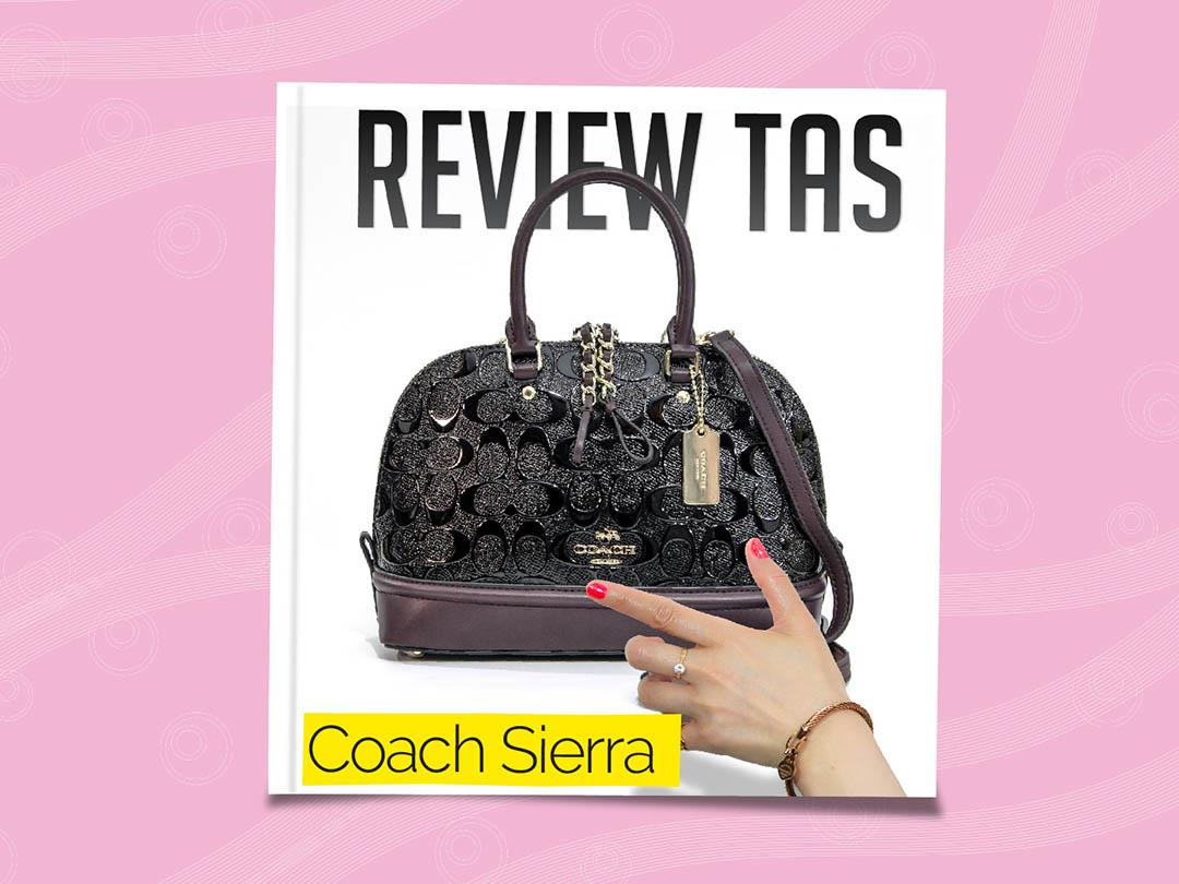 review tas coach sierra mini satchel