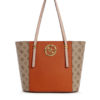 tas guess open road small tote