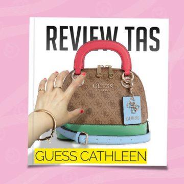 review tas guess cathleen mini satchel