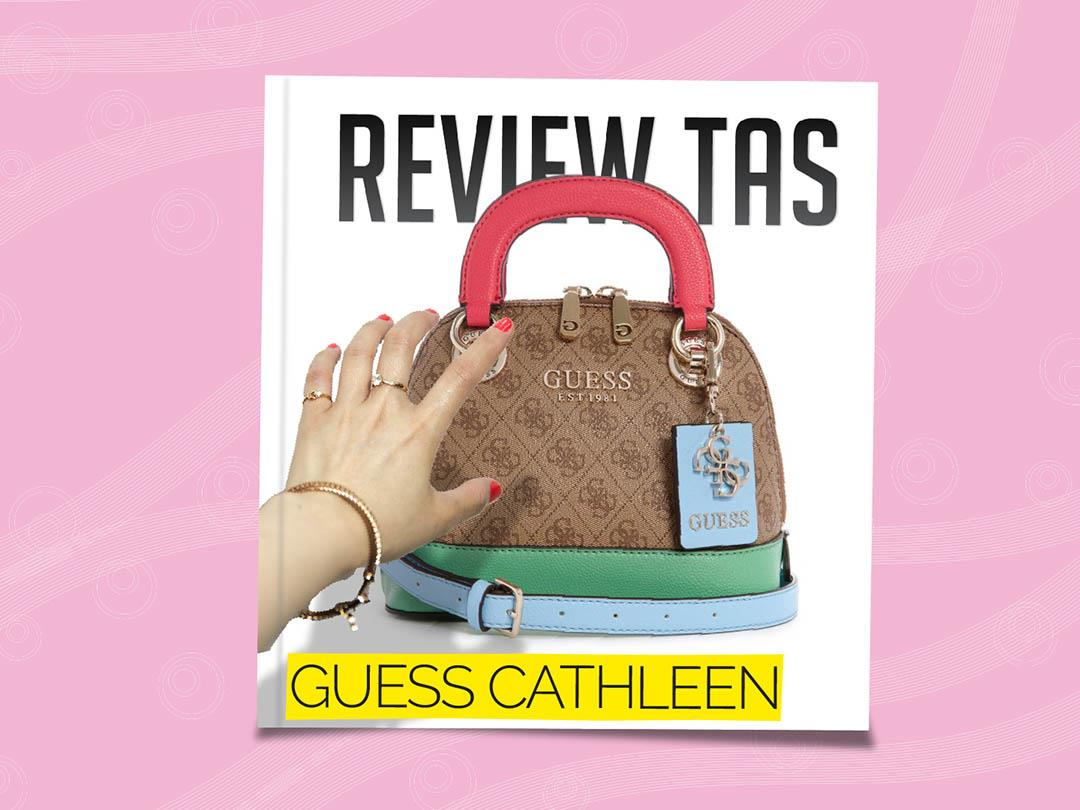 review tas guess cathleen mini satchel