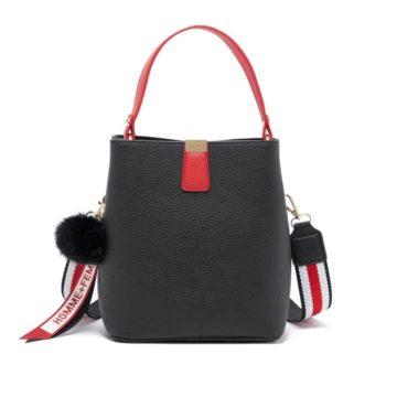jh adeline bucket bag black