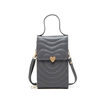 tas aishiteru mini bag gray