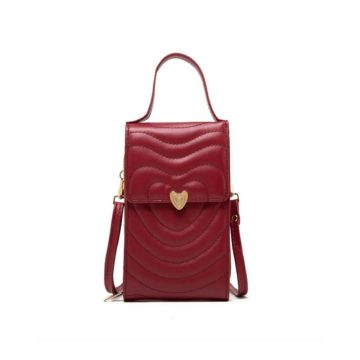 tas aishiteru mini bag red