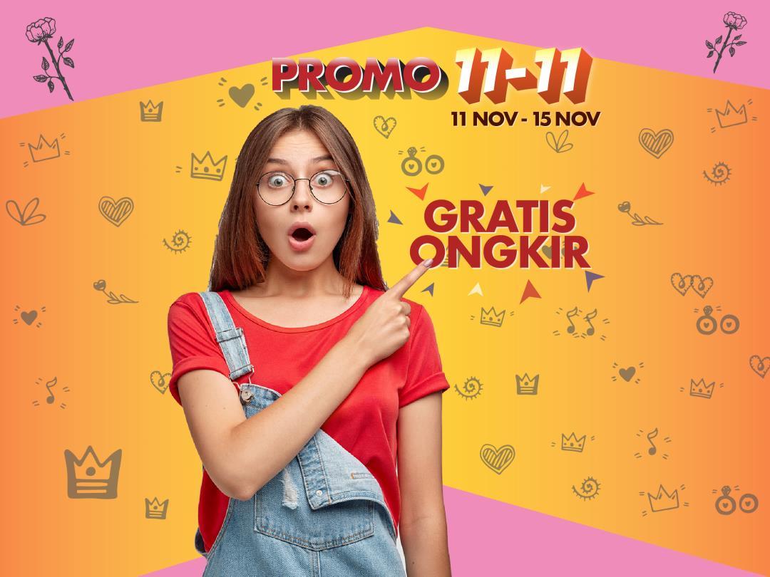 promo Harbolnas 11.11 dari channeldty