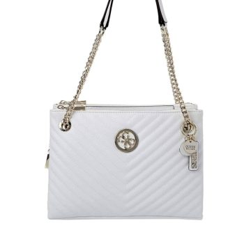 GUESS Blakely Tote Bag (white)