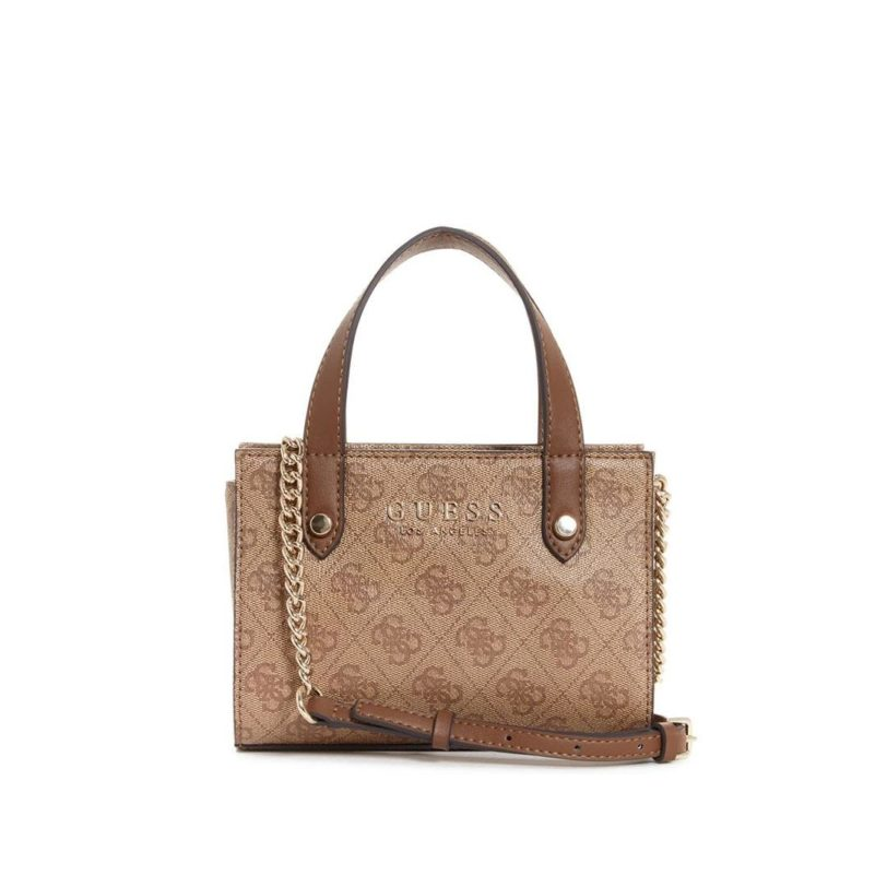 GUESS Florence Mini Satchel brown