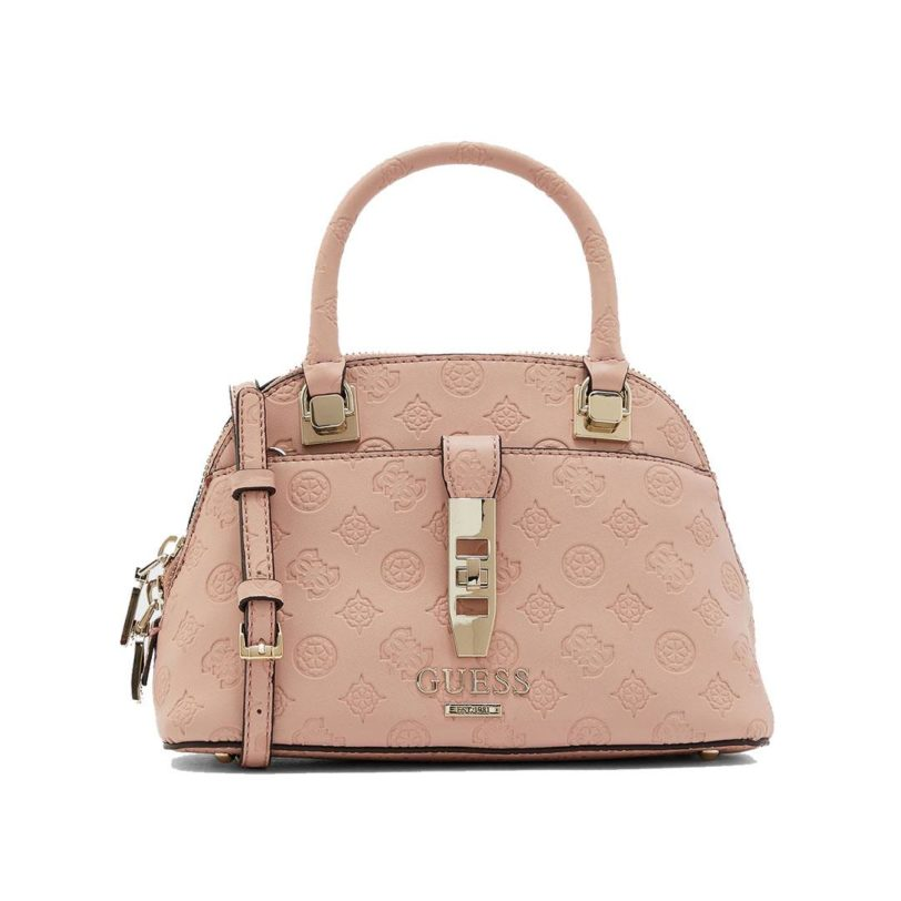 tas guess peony classic dome pink