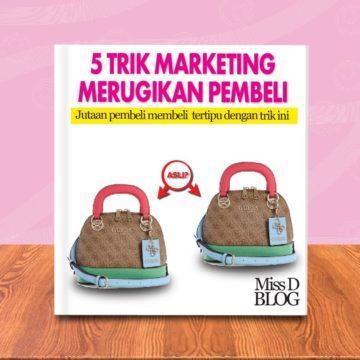 Trik Marketing Barang Palsu di Marketplace