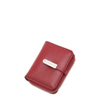 channeldty chole wallet red