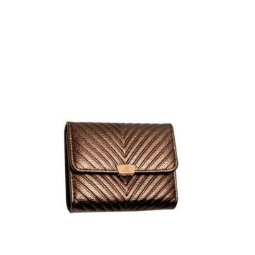 dompet elena kecil bronze