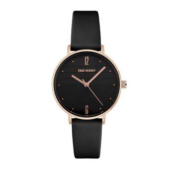 JH Ladies Elegan Leather Black (8130)
