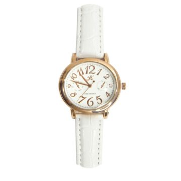 JH Ladies Sporty Leather White (8213)