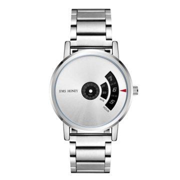 JH Mens Minimalist Modern Silver (8315)