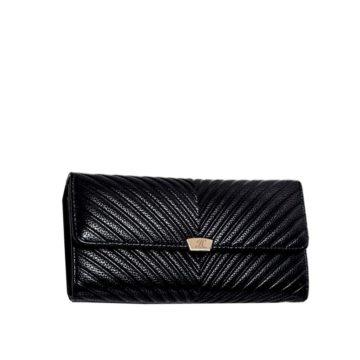 jh elena p wallet black