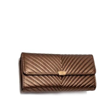 jh elena p wallet brown