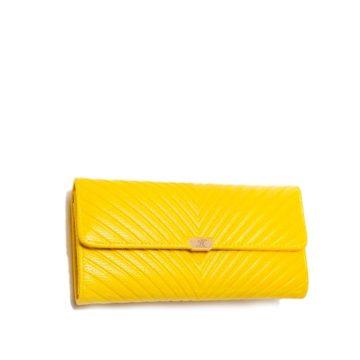 jh elena p wallet yellow