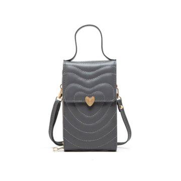 tas aishiteru mini bag gray