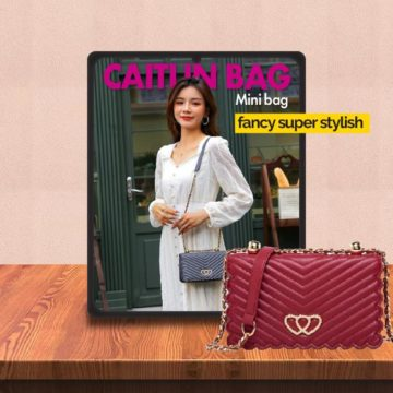 Video Review Sling Bag Fancy Elegan Look JH Caitlin