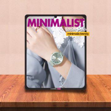 Video Review Jam Minimalis Super Trendy JH 8151