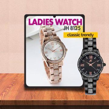 Video Review Jam Tangan Perempuan Modern JH 8120