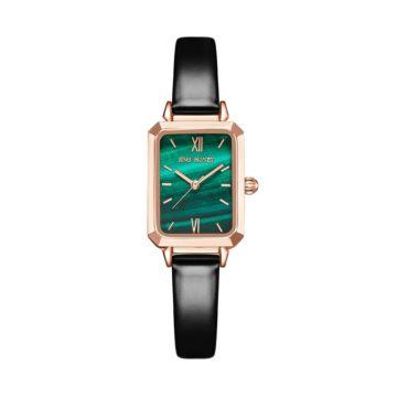 JH Ladies Emerald Elegan JHW03 Leather Rose Gold