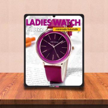Review Jam Tangan Perempuan Modern Futuristik JH 8122