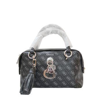 GUESS Gracelyn Duffle Bag Black Charcoal