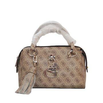 GUESS Gracelyn Duffle Bag Brown