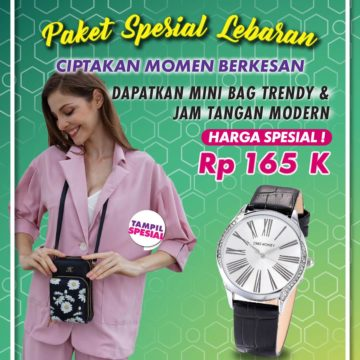 Promo Paket Spesial Lebaran Flora dan Jam Tangan