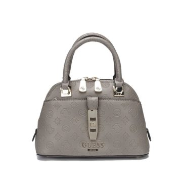 Guess Peony Classic Handle Bag Gray