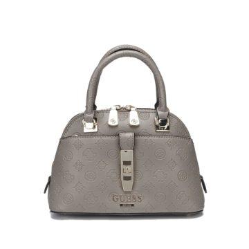 Guess Peony Classic Handle Bag Gray