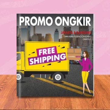 Jakarta & Bandung Ongkos Kirim Gratis